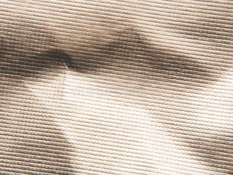 金属银色表面 发光的纹理 图库摄影