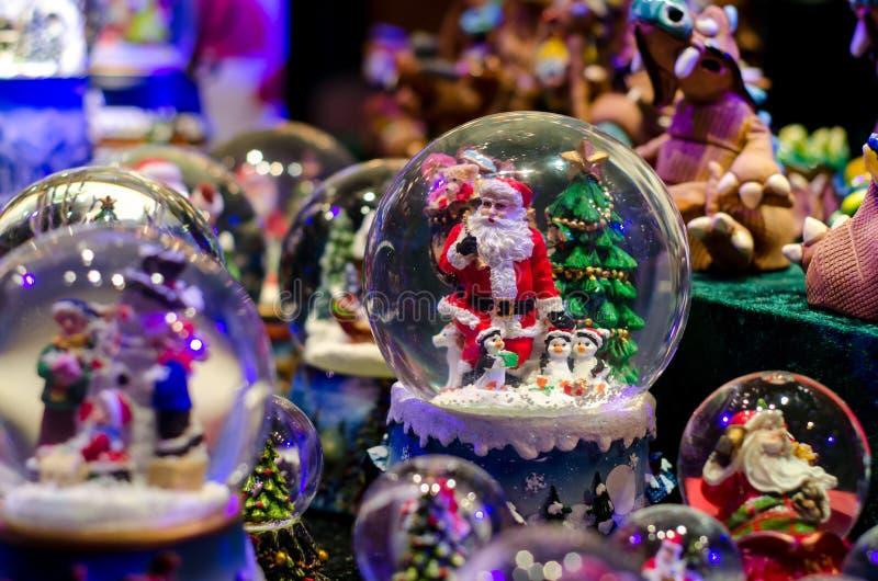 雪球玩具玻璃球 图库摄影