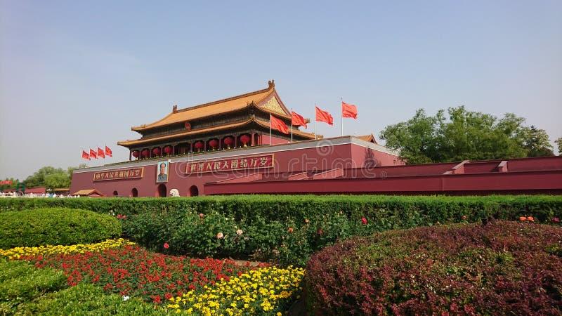 É-€ de ‰ de å¤©å® de Tiananmen photographie stock