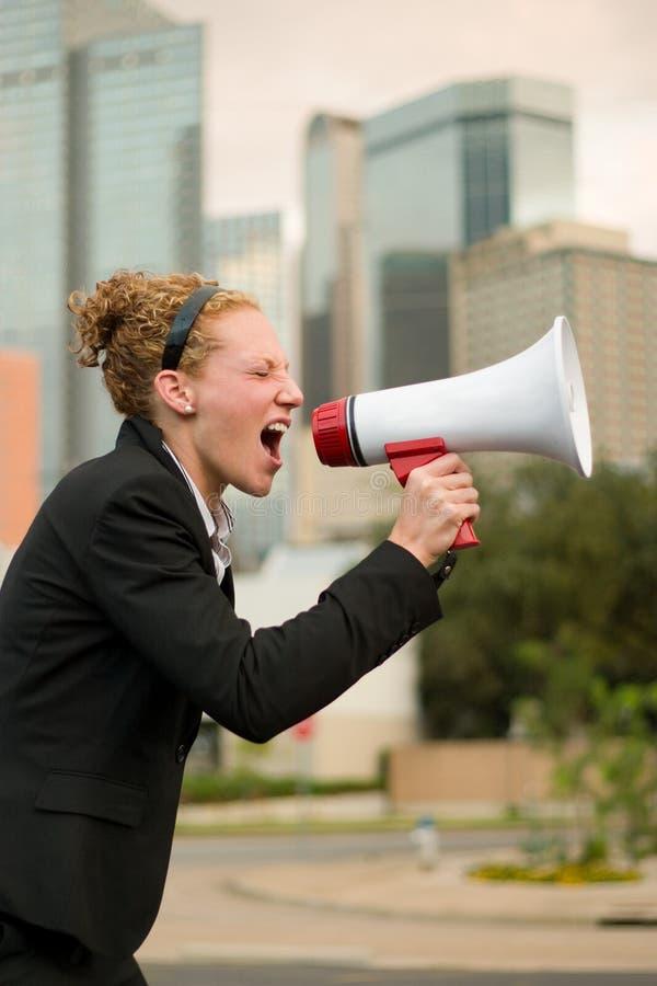É este ruidosamente bastante para você?! foto de stock royalty free