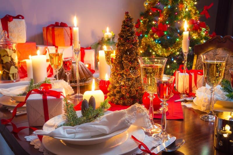 É hora para a Noite de Natal fotografia de stock royalty free
