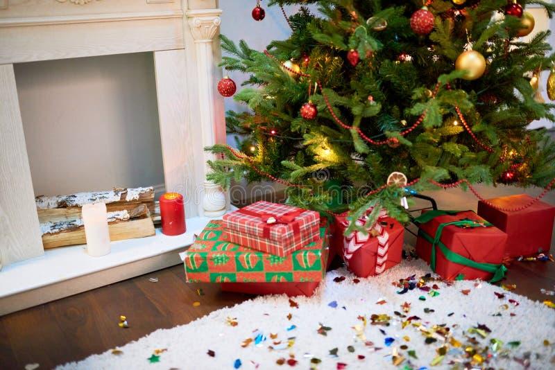 É hora para o Natal esperado desde há muito tempo imagem de stock royalty free