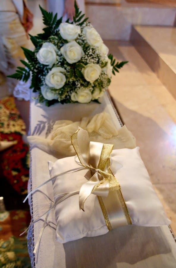 É tempo do casamento! fotografia de stock royalty free