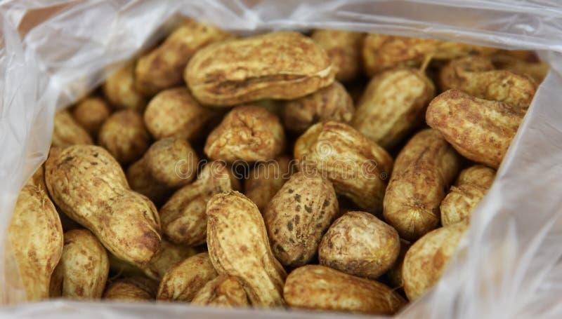 Ébullition d'arachides photos libres de droits