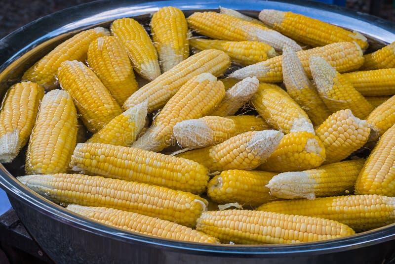 Ébullition de maïs photo libre de droits