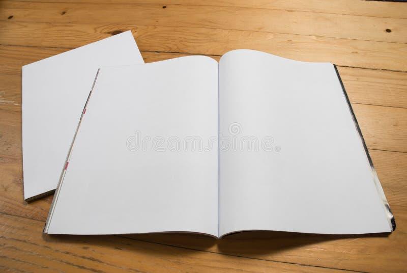 Écart blanc de revue photographie stock libre de droits