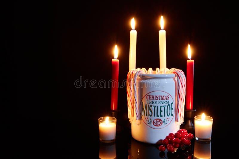 Écartez une certaine acclamation de Noël photographie stock libre de droits
