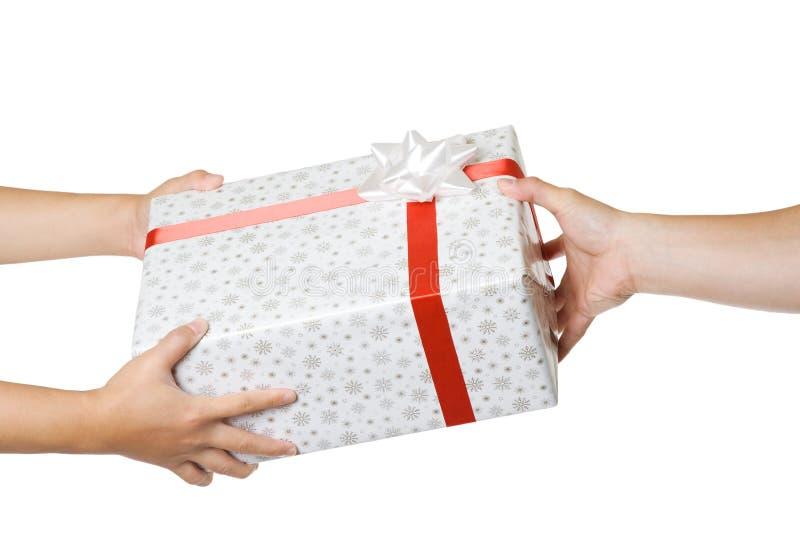 Échange de cadeau images stock