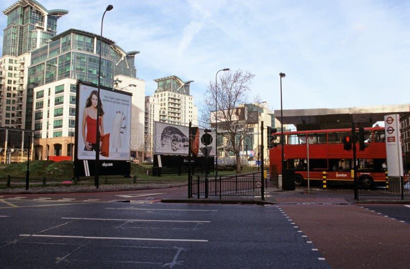 Échange de transport de croix de Vauxhall photo libre de droits