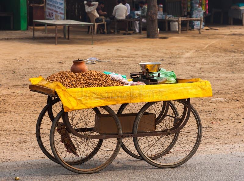 Échanges des villes de l'Inde photos stock