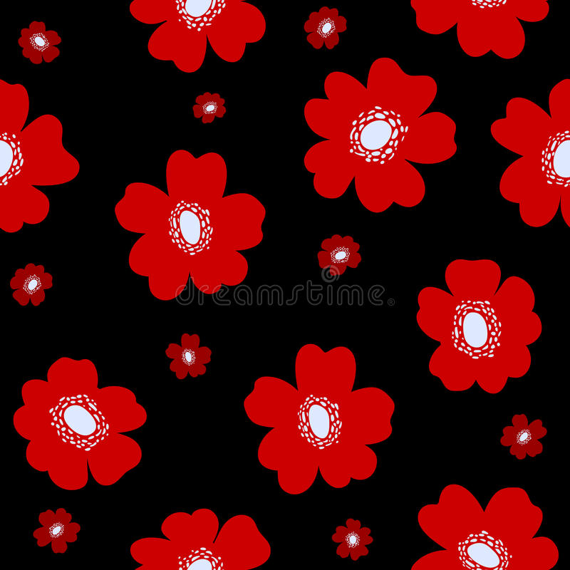Échantillon décoratif de fleur illustration libre de droits