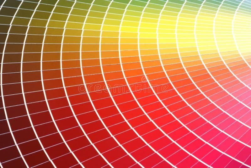 Échantillon de couleur photos stock