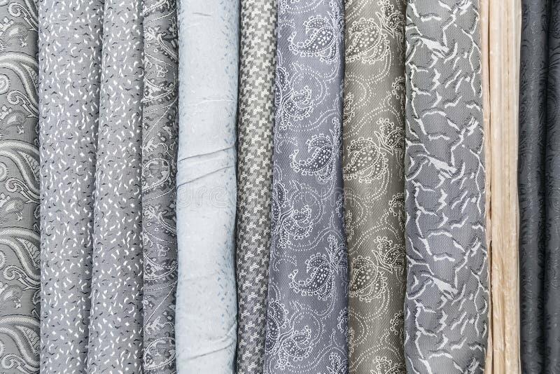 Échantillon de tissu de tapisserie images stock