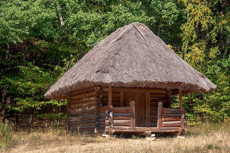 Échantillon de vieilles maisons Ukraine images stock