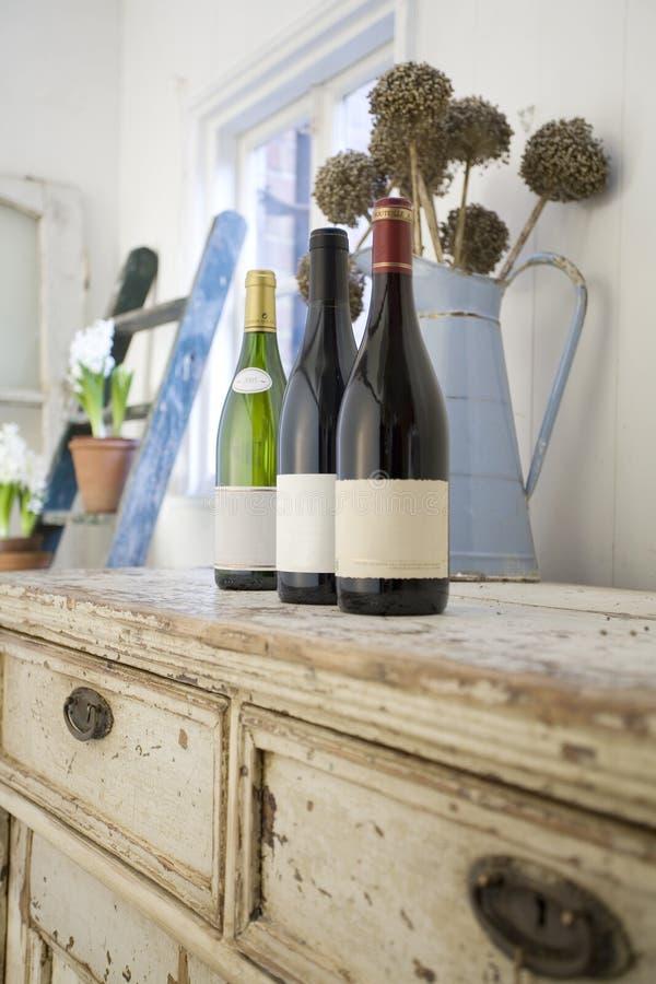 Échantillon de vin de cru photographie stock