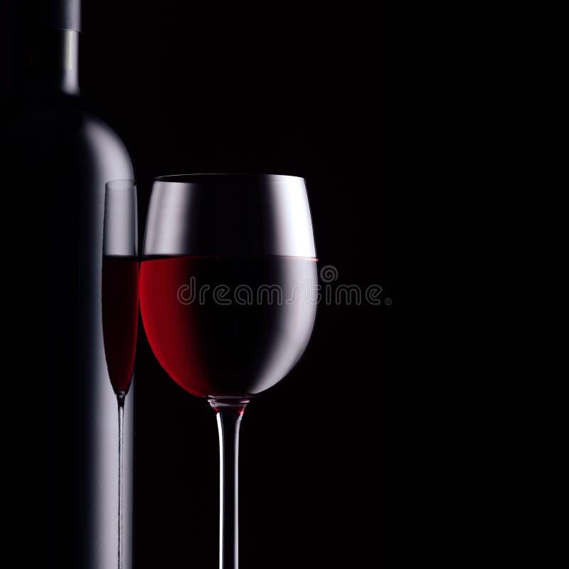 Échantillon de vin rouge images stock