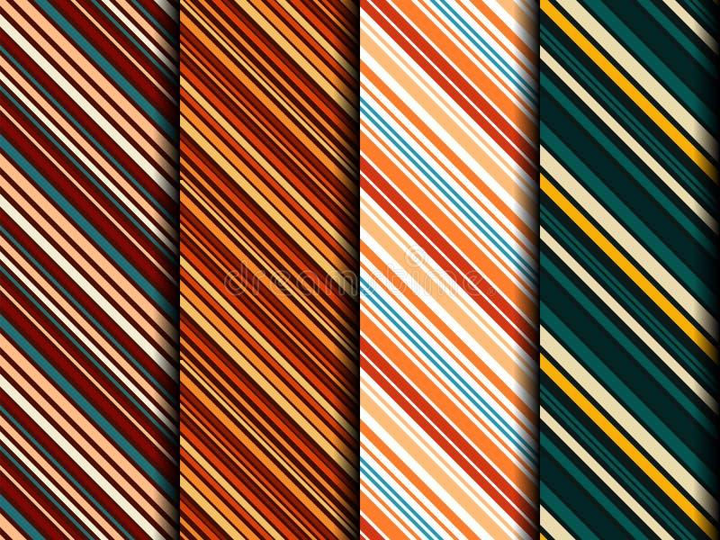 Échantillon lumineux de tissus sans couture illustration libre de droits