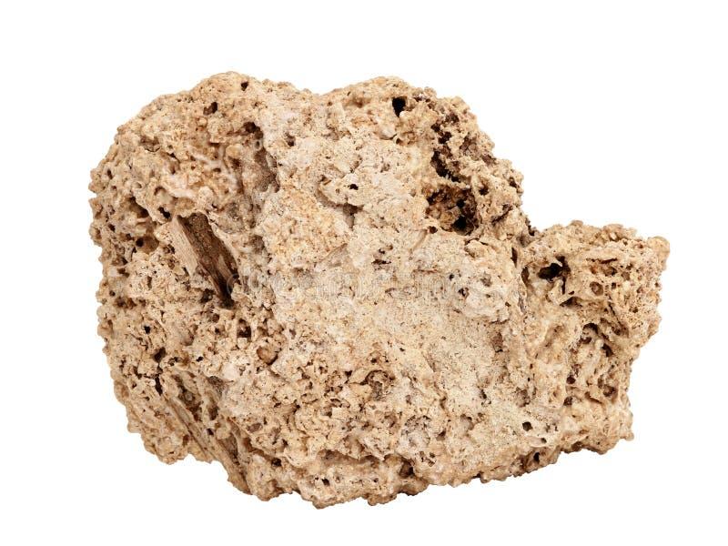 Chantillon naturel de roche de travertin sur le fond for Travertino roca