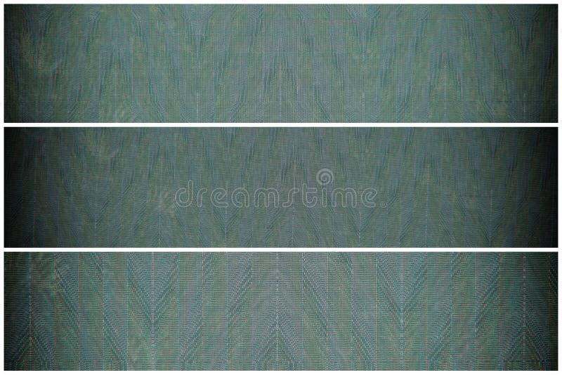 Échantillon sur son trente et un peint ombragé, surface de pile de tissu pour la couverture de livre, élément de toile de concept images stock