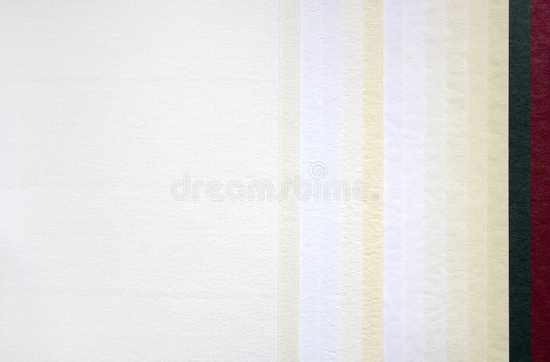 Échantillonneur de papier image stock