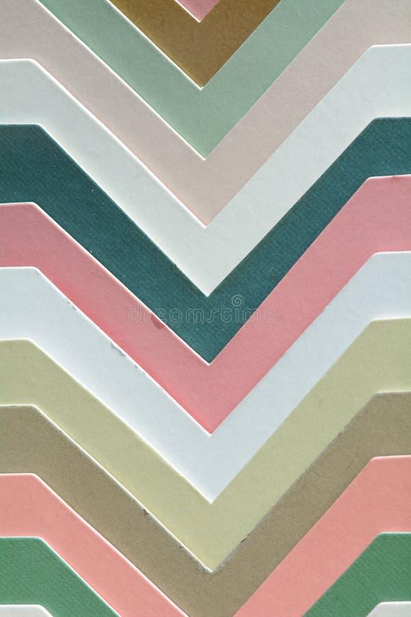 Échantillons de bâti de cadre de tableau dans différentes couleurs photo stock