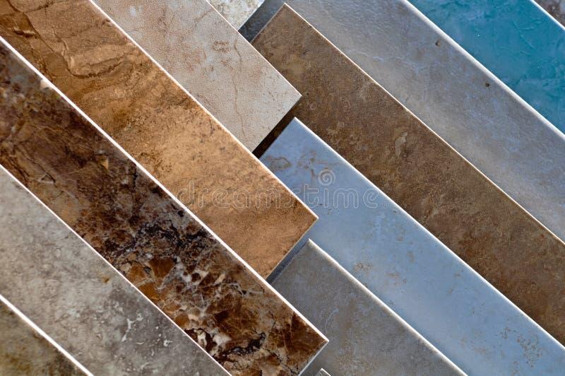 Échantillons de carreau de céramique photographie stock