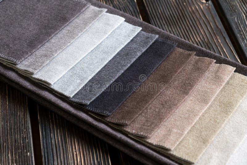Échantillons de couleur d'un tissu image libre de droits