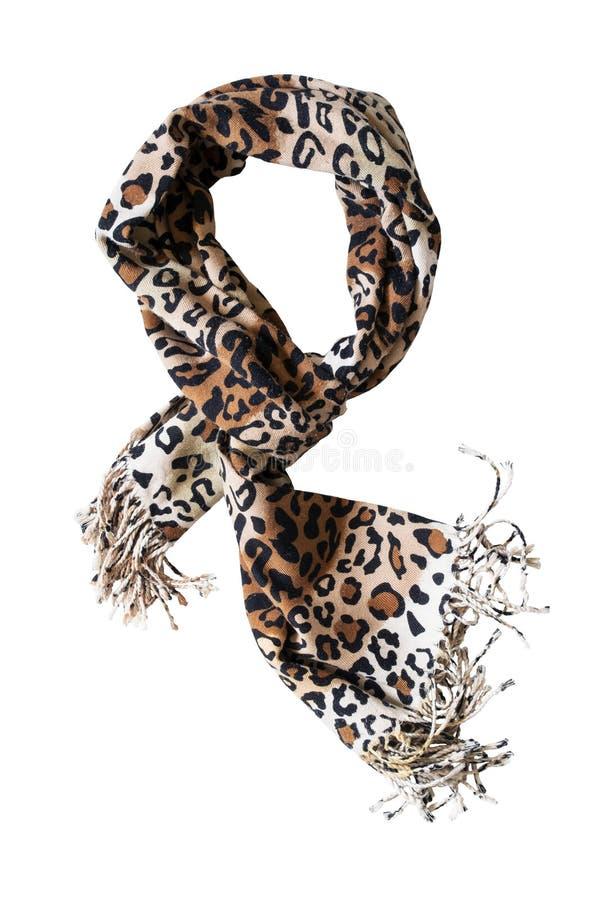 Écharpe de léopard images libres de droits