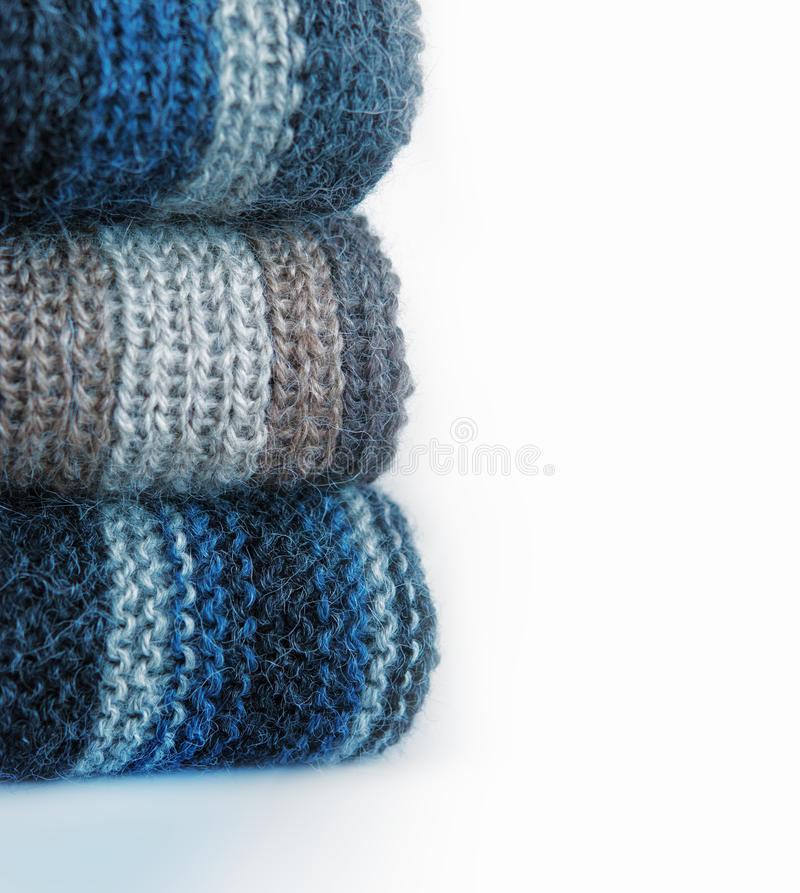 Écharpe de laine photos stock