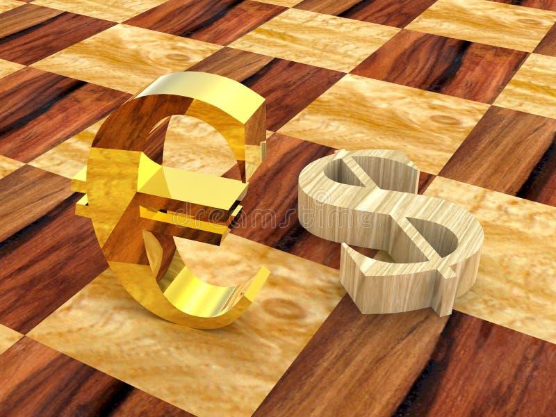 échecs 3D photographie stock libre de droits