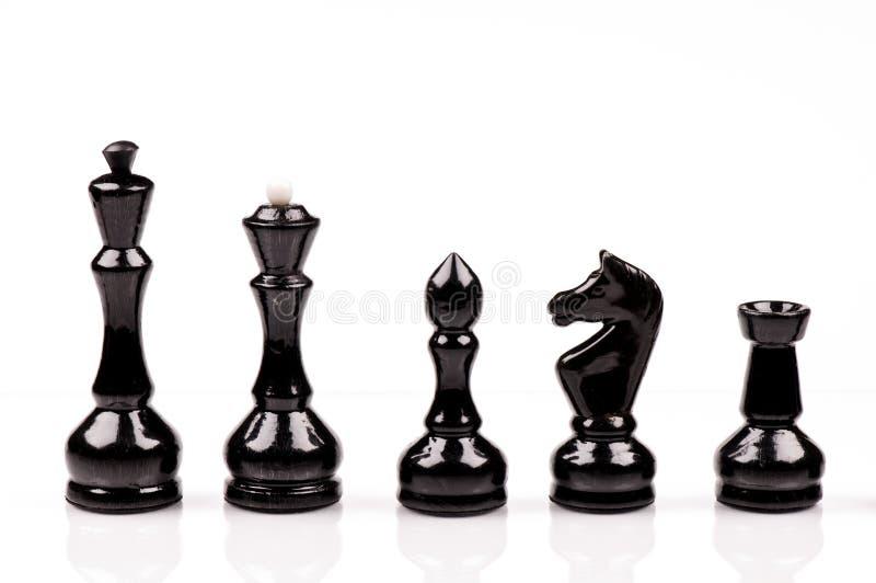 échecs noirs photographie stock