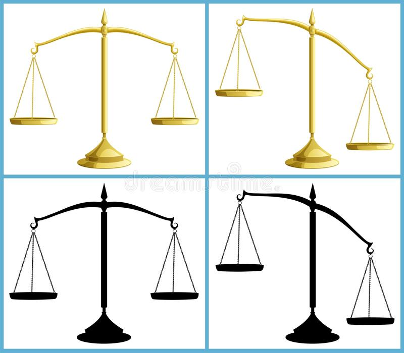 Échelle illustration libre de droits
