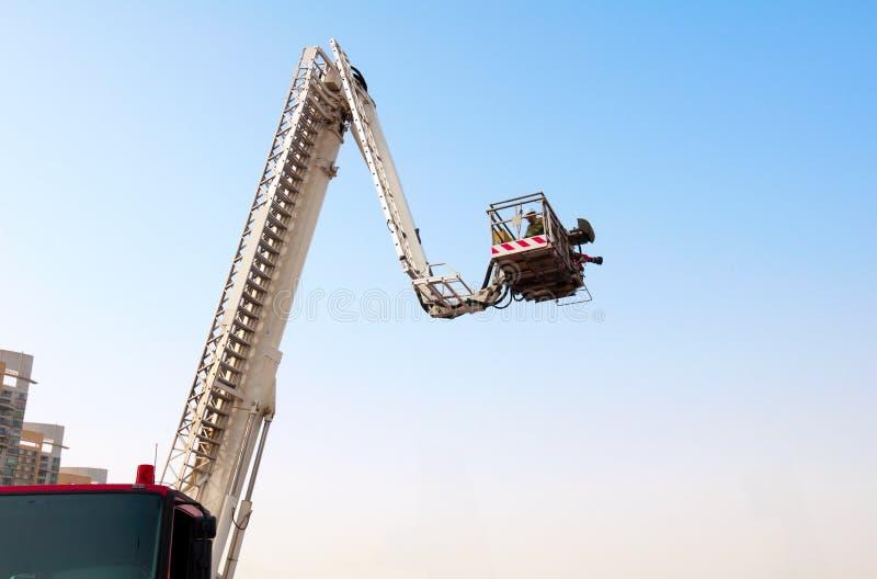 Échelle d'incendie image stock