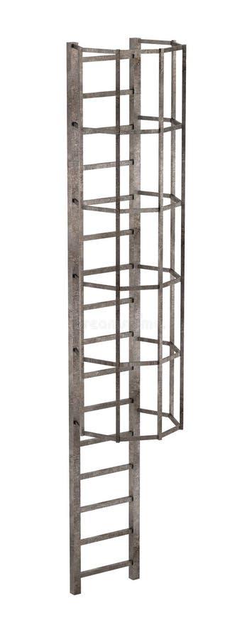 Échelle de cheminée illustration stock