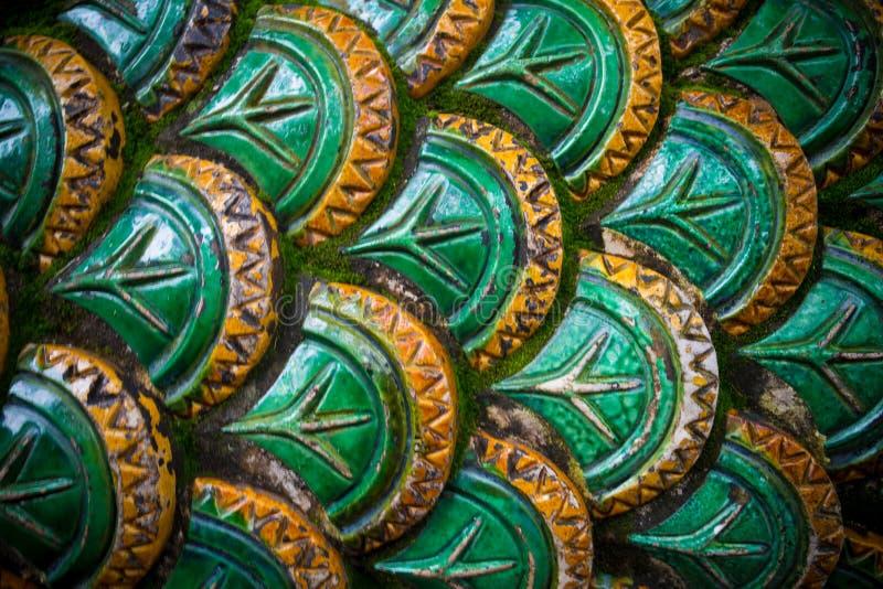 Échelle du ` s de serpent à l'échelle du ` s de serpent dans Chiang Mai photo stock