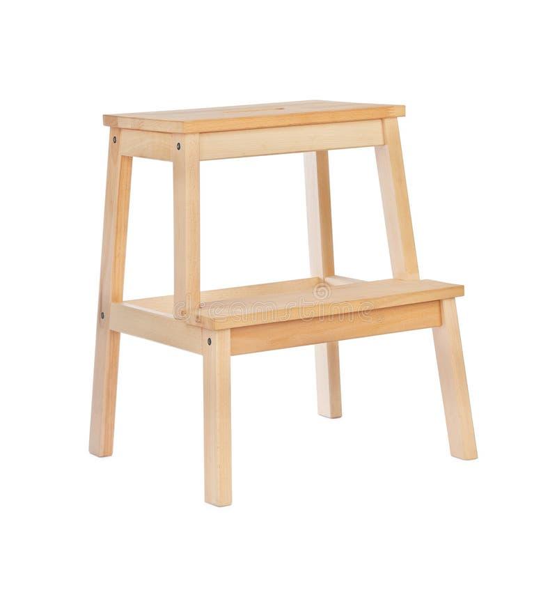 Échelle en bois image libre de droits