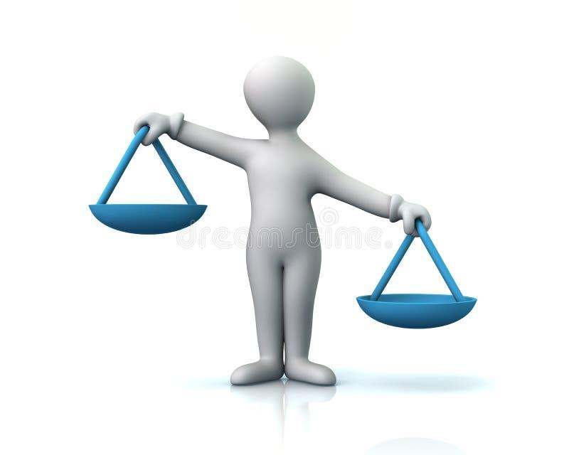 échelles illustration libre de droits