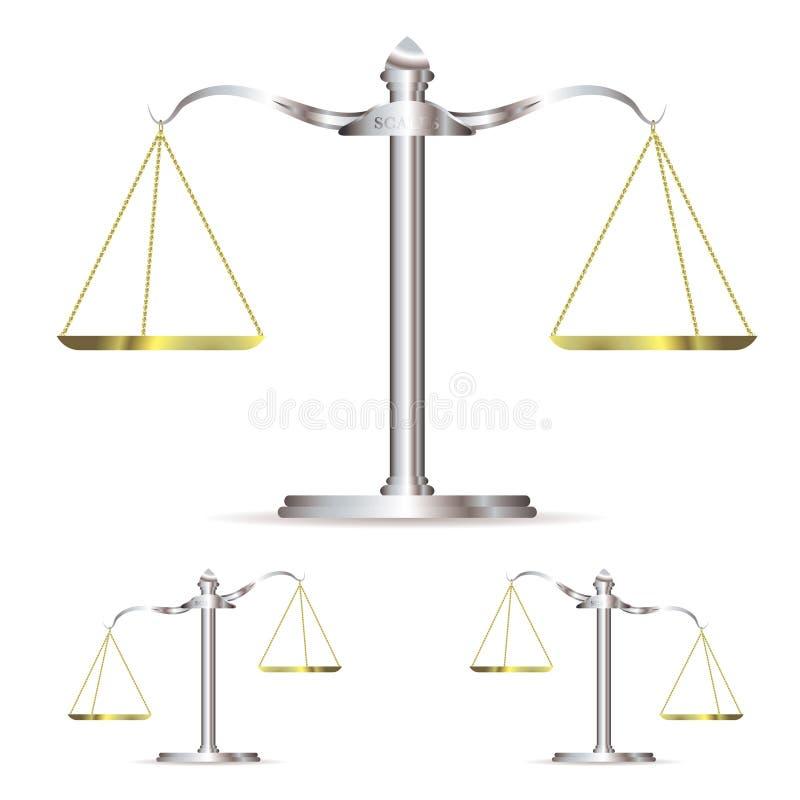 Échelles en métal illustration libre de droits