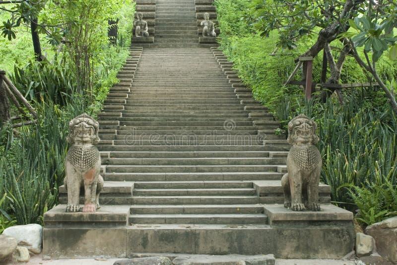 Échelon de Khao Phanom. photographie stock libre de droits