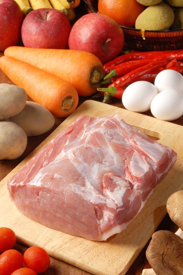 Échine de porc image stock
