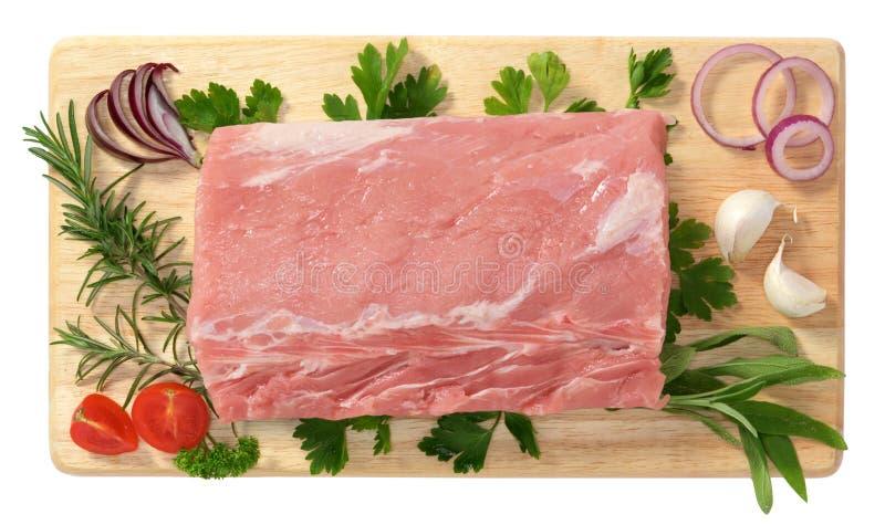 Échine de porc photo libre de droits