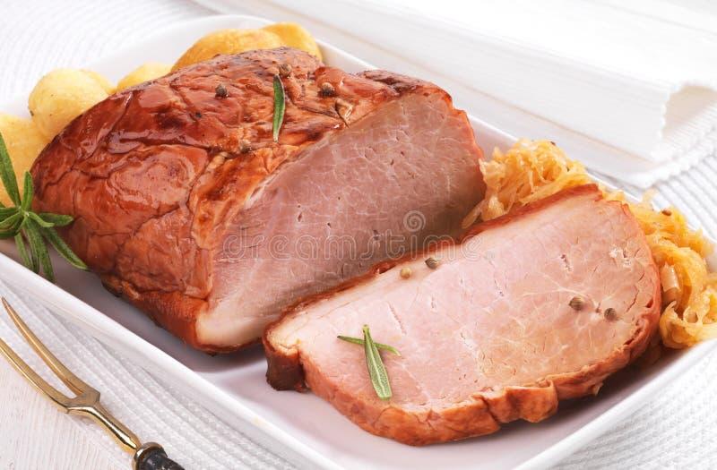 Échine de porc photo stock