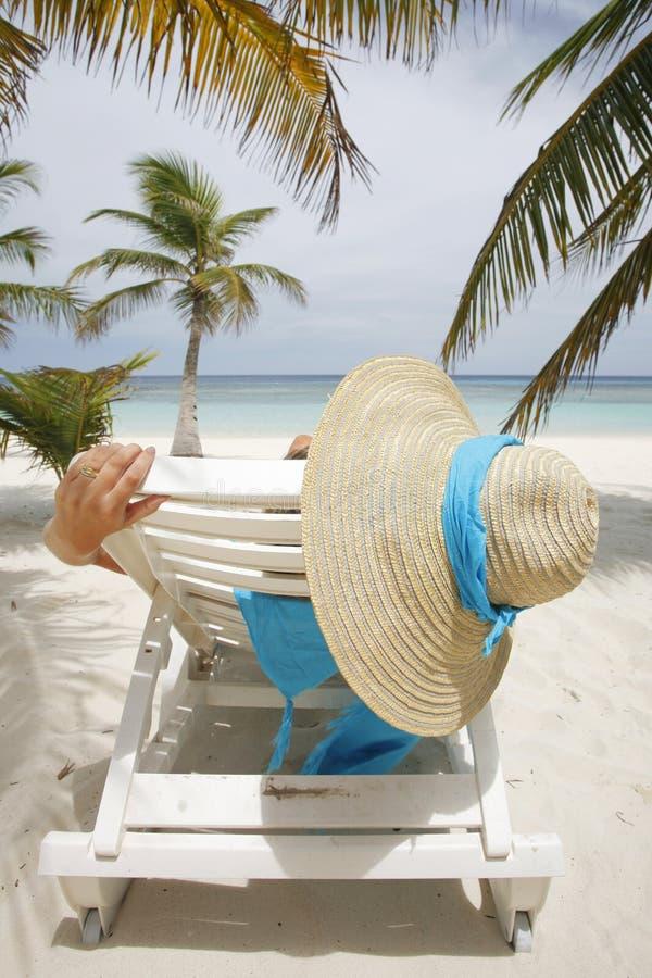 échouez la scène tropicale photos libres de droits