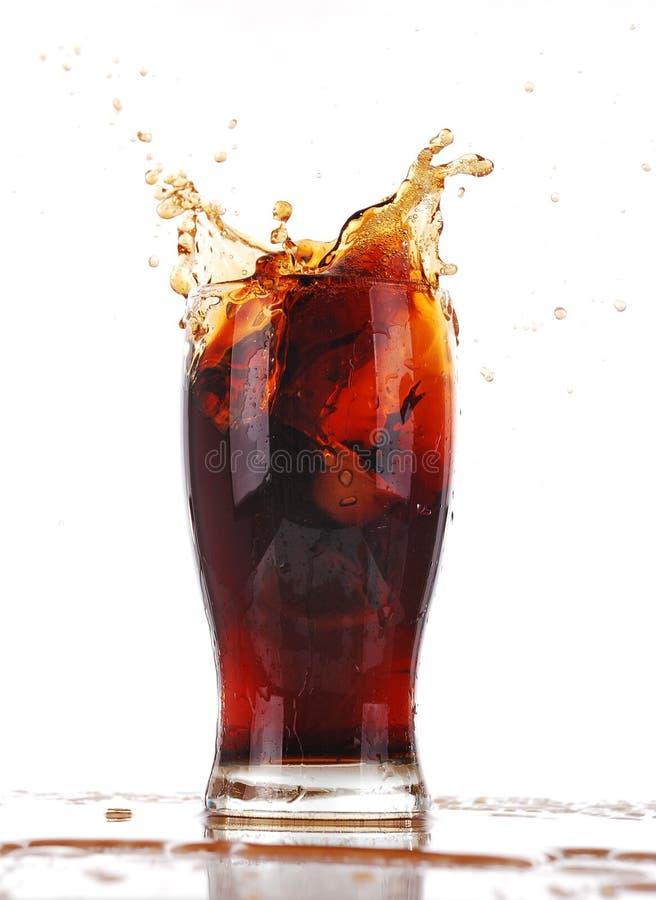 Éclaboussement de kola images libres de droits