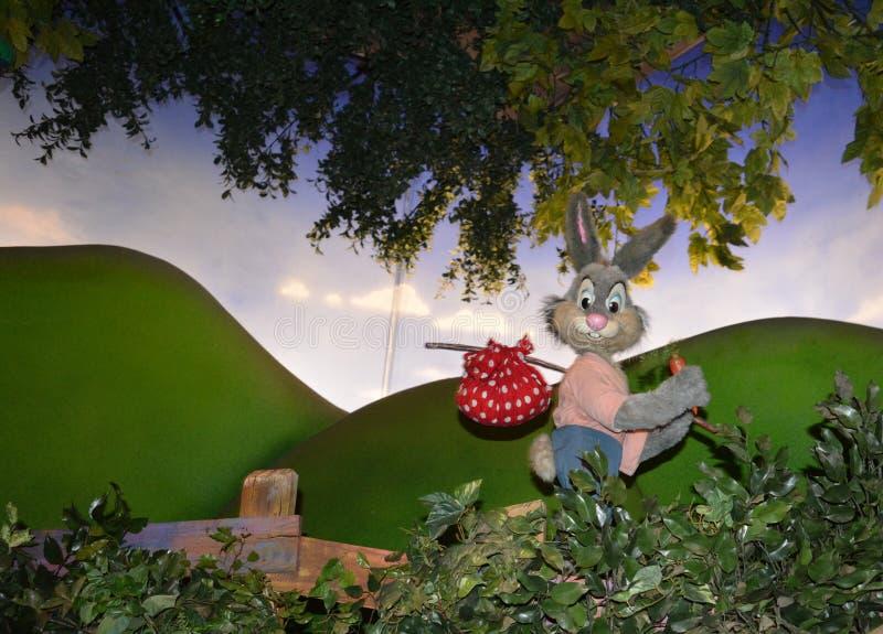 Éclaboussez la montagne, royaume magique, monde de Walt Disney photo libre de droits