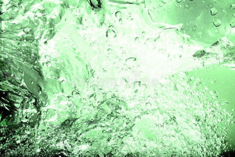 Éclaboussure abstraite de l'eau images stock