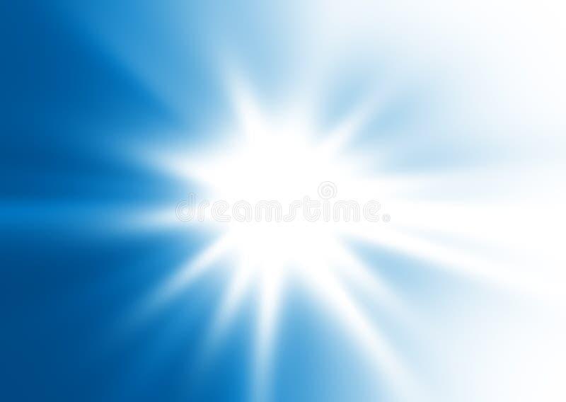 Éclaboussure bleue photographie stock