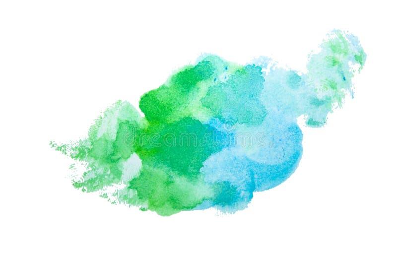 Éclaboussure d'aquarelle de tache Illustration colorée de Dr. pour aquarelle illustration de vecteur