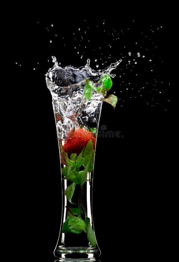 Éclaboussure de boisson non alcoolique image libre de droits