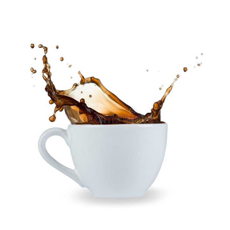 Éclaboussure de café image libre de droits